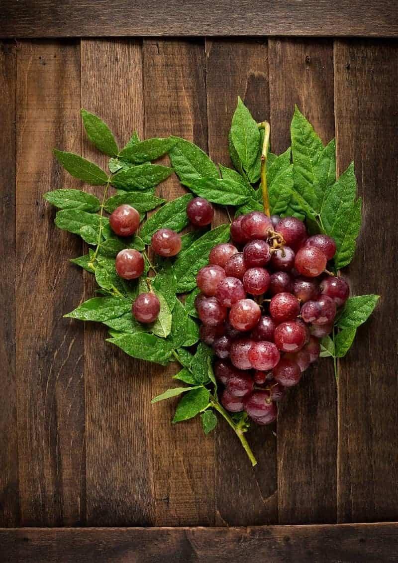 Making Red Grape Juice