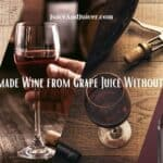 How to Make Homemade Wine from Grape Juice Without Yeast