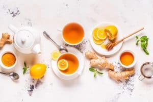 Green Turmeric Iced Tea