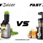 Slow Juicer vs Fast Juicer